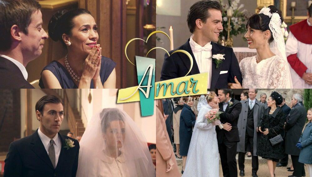 'Amar es para siempre' se viste de boda