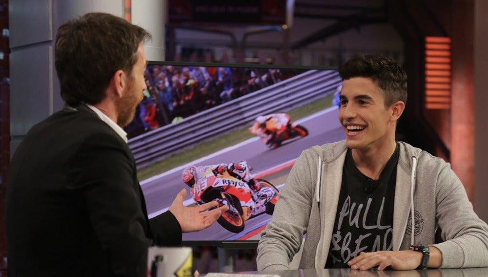 Marc Márquez aclara cómo es su relación con Valentino Rossi en la actualidad