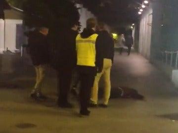 Brutal agresión de un joven en Murcia