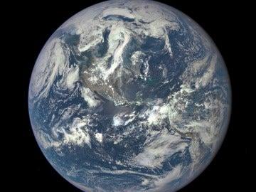 La Tierra vista desde el espacio