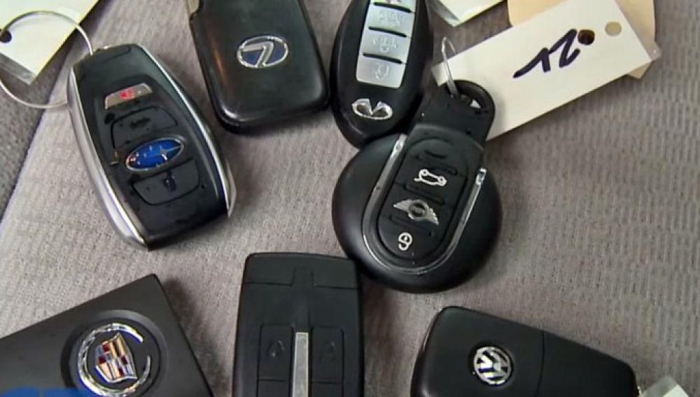 Llaves de coches