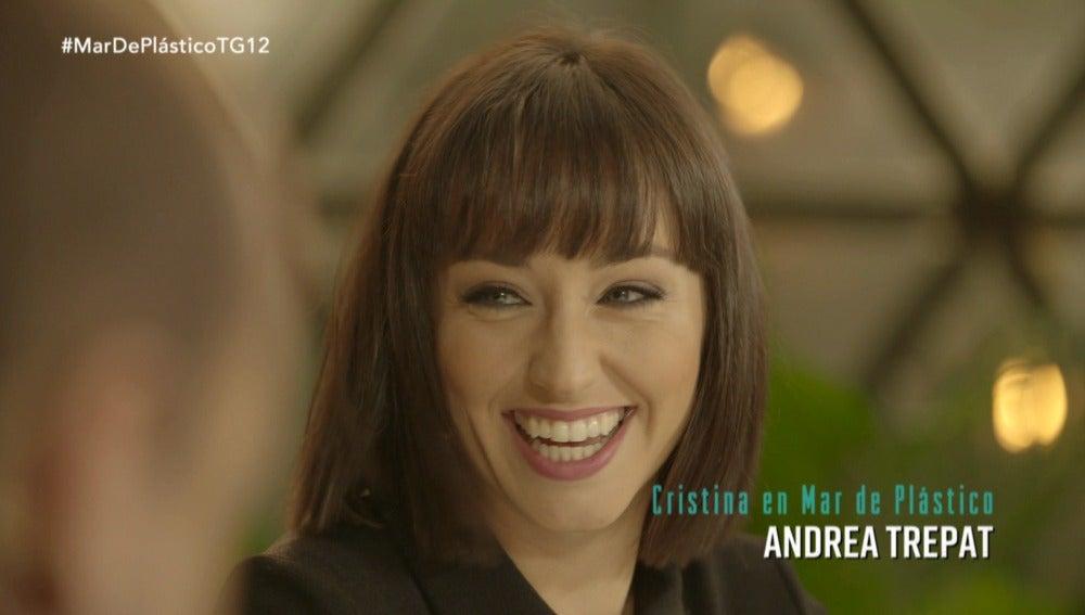 """Andrea Trepat: """"He disfrutado mucho el ir ahondado en el personaje"""""""
