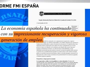 Frame 9.875403 de: El FMI aconseja a España reducir gradualmente las exenciones del IVA