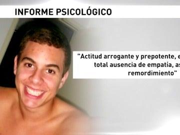 Frame 13.258853 de: Nogueira es psicopático, pero responsable de sus actos