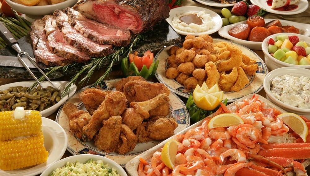 Banquete de comida