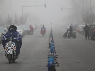 Imagen de la contaminación en China
