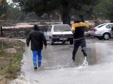 Daños ocasionados por el temporal en Valencia