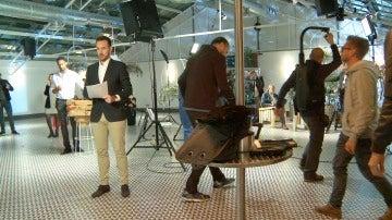 Así se grabó el mannequin challenge de los protagonistas de 'Mar de plástico'