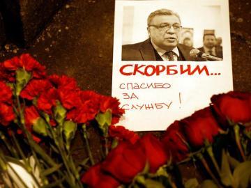 Recuerdo al embajador ruso asesinado en Ankara