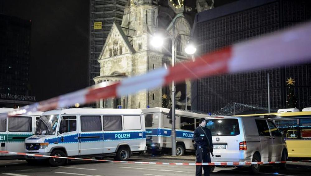 Ataque a un mercadillo navideño en Berlín