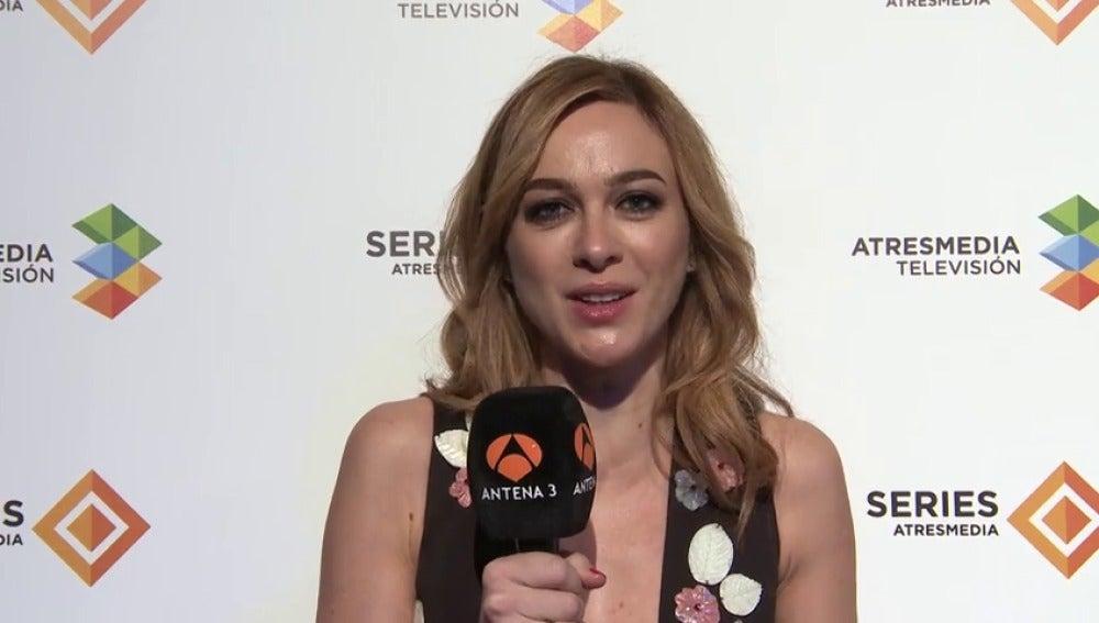 "Frame 10.747507 de: Marta Hazas: ""El directo de 'Velvet' va a ser trepidante"""