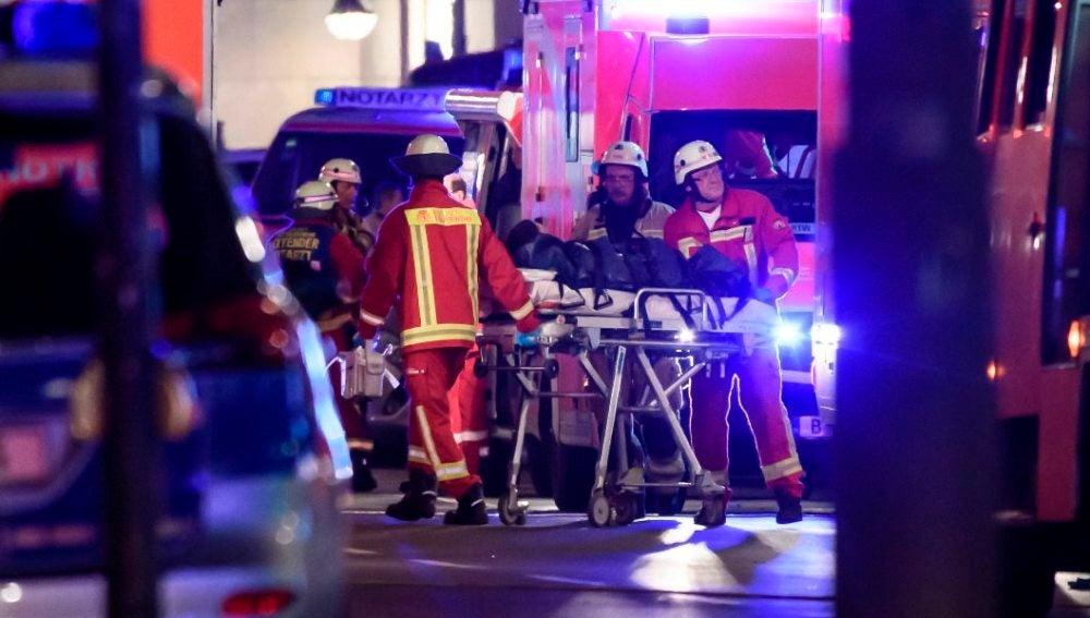 Heridos en el atropello masivo de Berlín
