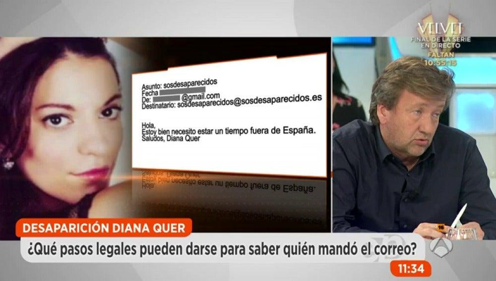 Antena 3 tv los investigadores creen que alguien del for Espejo publico diana quer