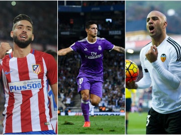 Carrasco, James Rodríguez y Abdennour