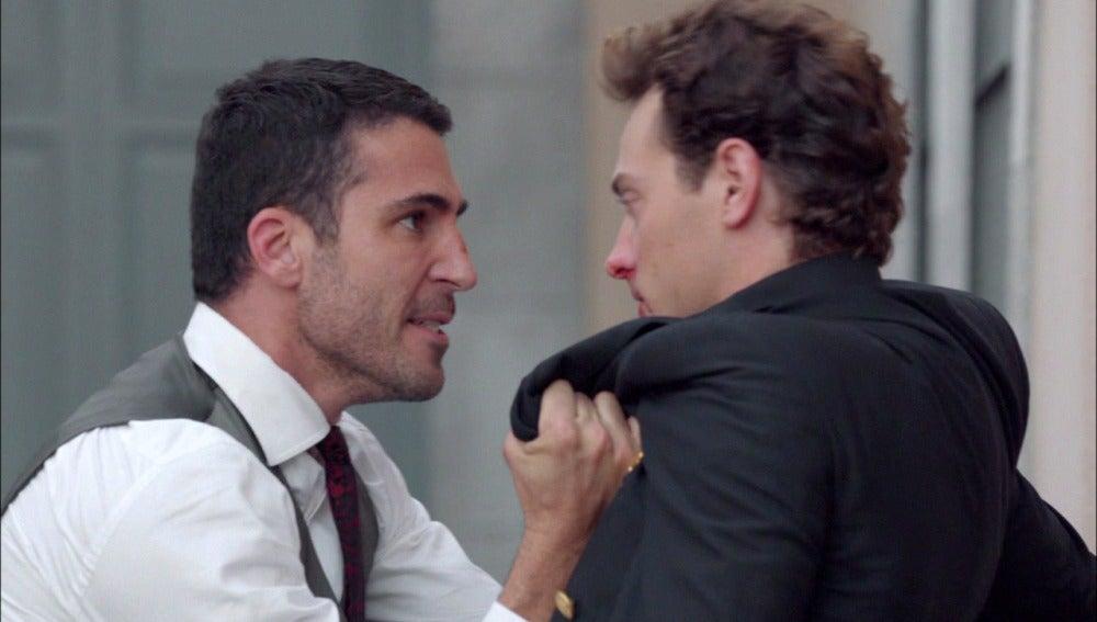 """Alberto, lleno de odio, se enfrenta a Carlos: """"Me has robado cinco años de mi vida"""""""