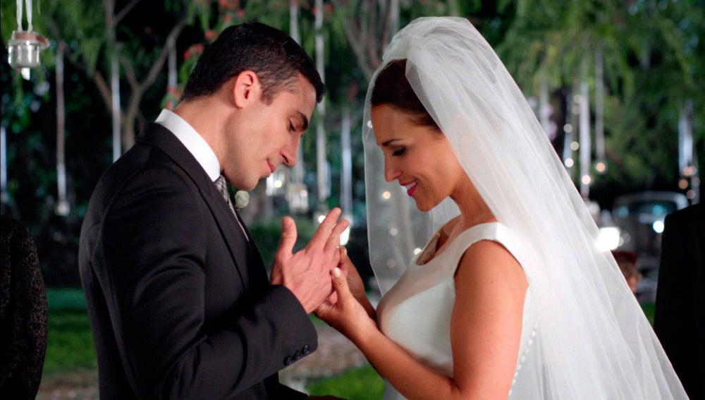 El 'sí, quiero' de cuento de Ana y Alberto