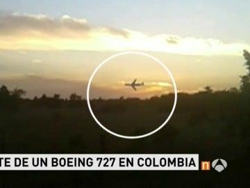 Frame 8.435555 de: ACCIDENTE AVION COLOMBIA