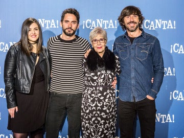 Los dobladores de '¡Canta!' en Madrid