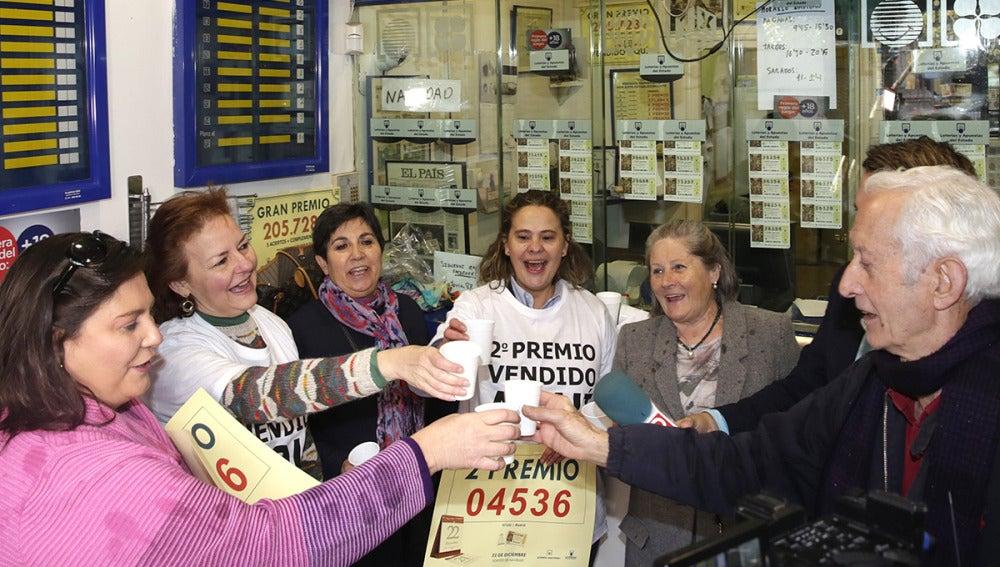 Administración de Madrid en la que se han vendido décimos del segundo premio