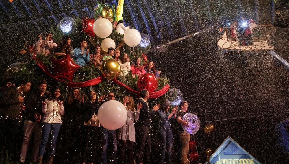 Laura Pausini inaugura oficialmente la Navidad en 'El Hormiguero 3.0'