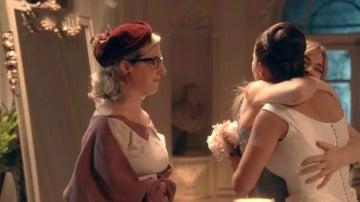Clara, Rita y Ana disfrutan de su amistad en uno de los momentos más importantes de sus vidas