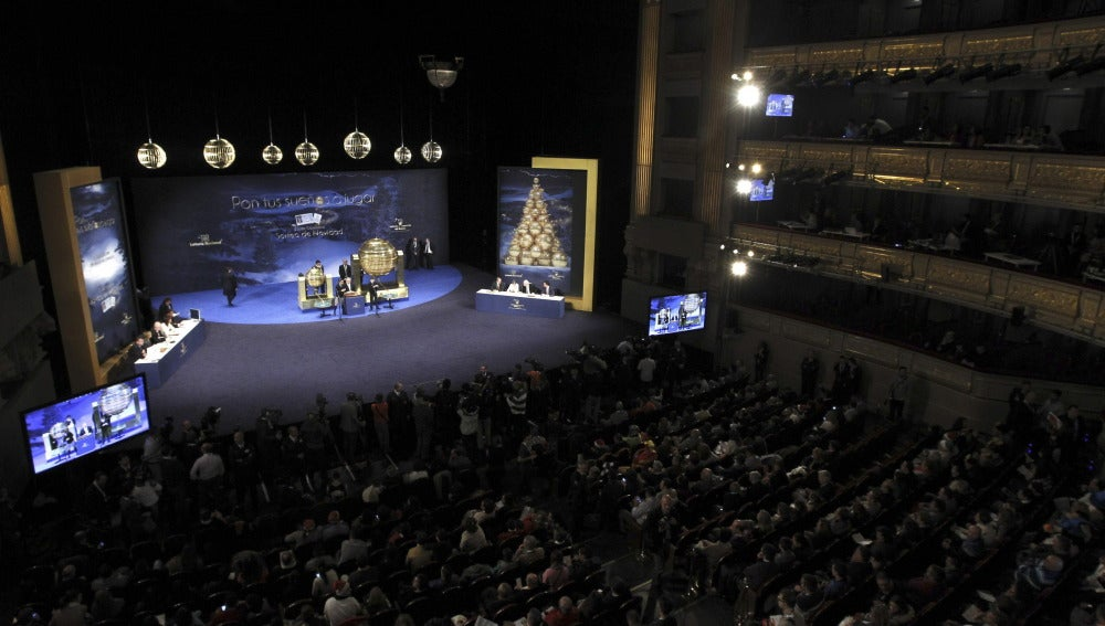 Teatro real Lotería navidad