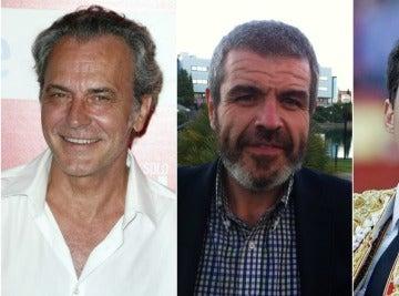 José Coronado, Lorenzo Caprile y El Juli