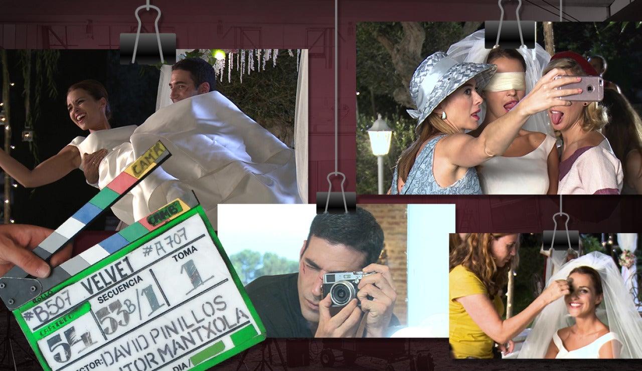 Nos colamos en la boda del año, la de Ana Rivera y Alberto Márquez en 'Velvet'