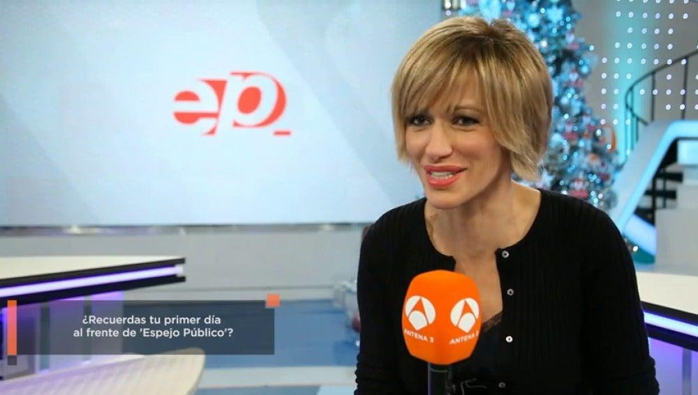 Objetivo tv antena 3 tv susanna griso celebra los 10 for Antena 3 espejo publico hoy