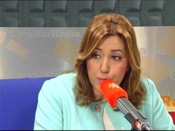 """Frame 10.736805 de: Susana Díaz sostiene que """"habrá primarias y habrá competición"""" en el PSOE"""