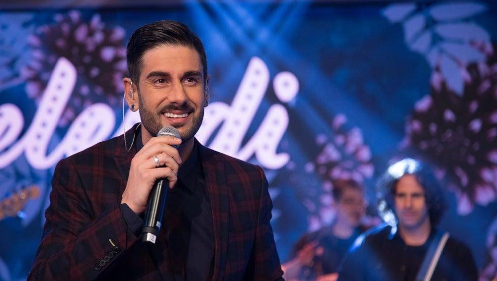 Melendi canta en directo su nuevo single, 'Desde que estamos juntos', en 'El Hormiguero 3.0'
