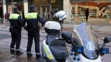 Policía local de Vitoria