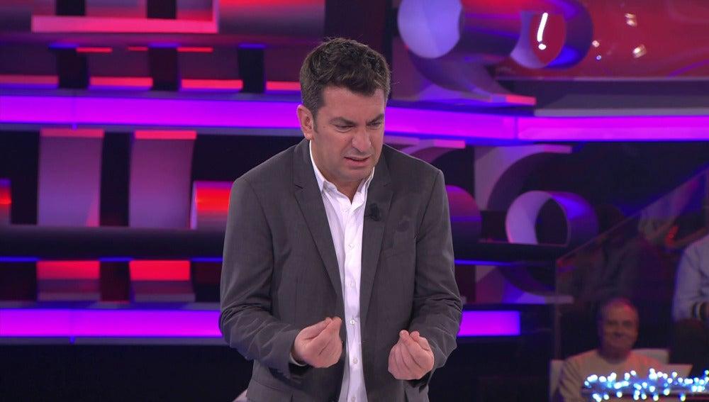 """Arturo Valls: """"¿Es grima?"""""""
