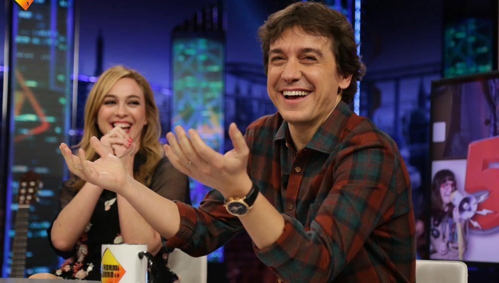 Javier Veiga olvida su fecha de boda con Marta Hazas
