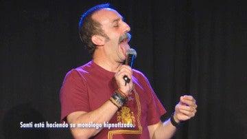 El monólogo más especial de Santi Rodriguez