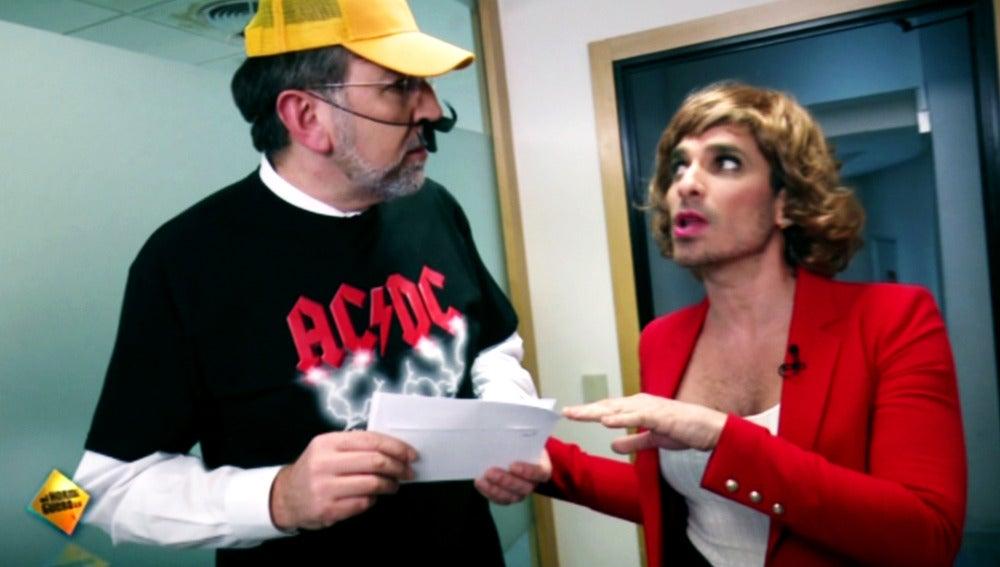 Mariano Rajoy se convierte en el nuevo 'Jefe infiltrado' de la televisión