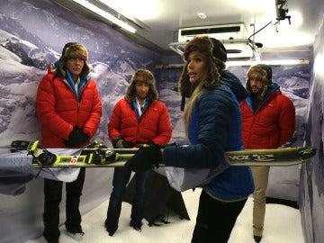 Descubre cómo sobrevivir al frío extremo de una montaña nevada