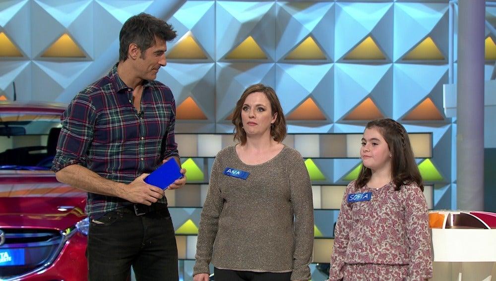Ana y Sofía son las ganadoras del día especial de niños