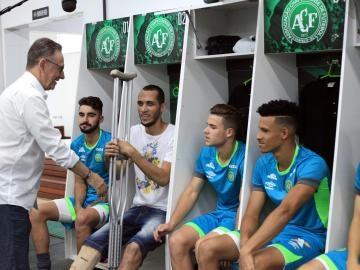 Helio Neto acompaña a la nueva plantilla del Chapecoense