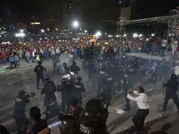 Disturbios en México