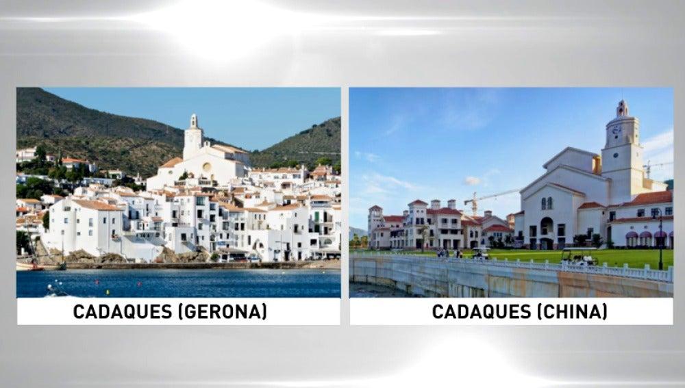 Frame 55.41242 de: La afición de los chinos por copiar monumentos les lleva a replicar la localidad de Cadaqués