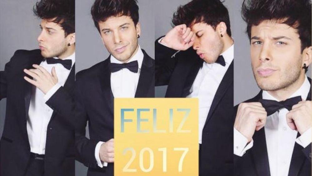 Blas Cantó felicita el nuevo año