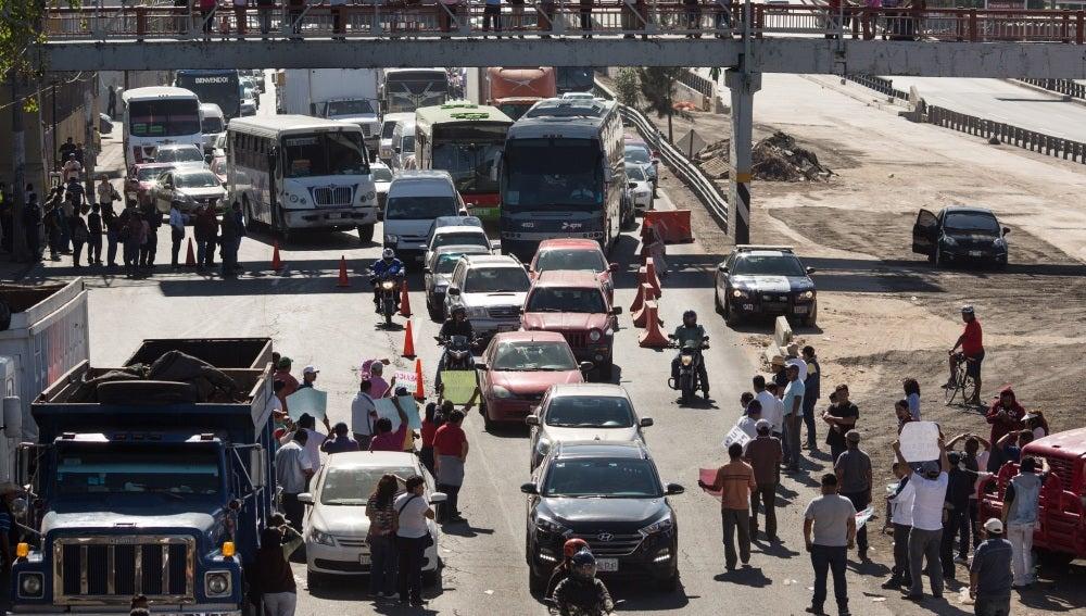 Protestas en México ante la subida de la gasolina