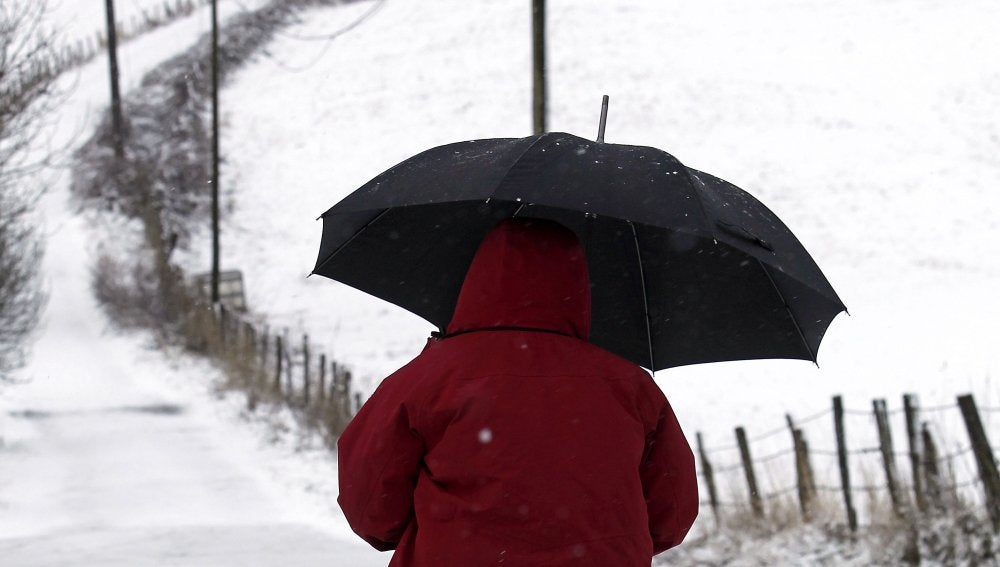 Frío y nieve en España