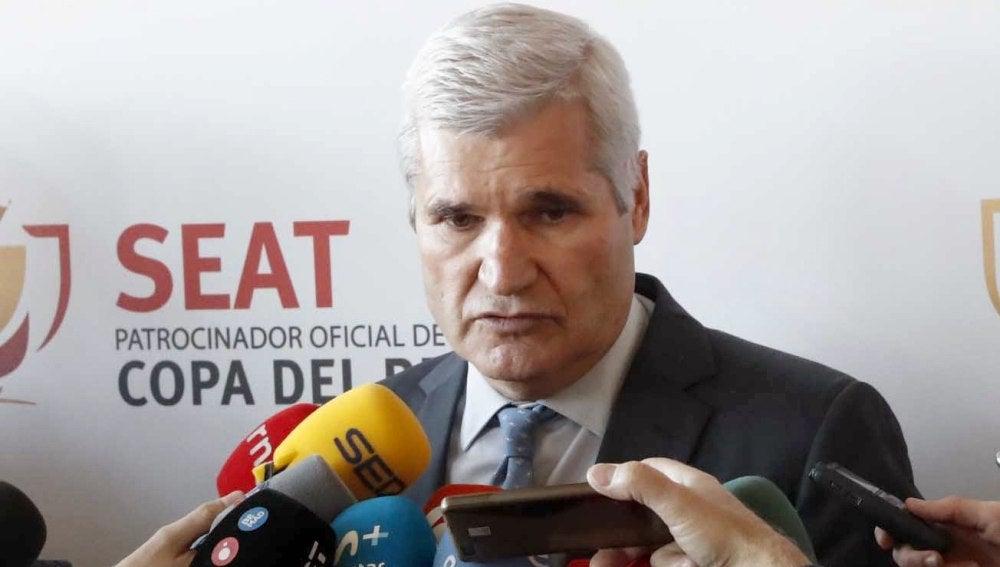Gratacós, directivo del Barcelona