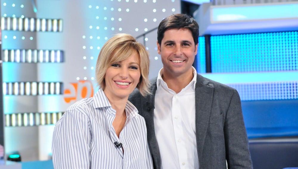 Fran Rivera y Susanna Griso.