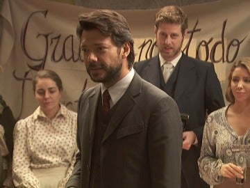 """Lucas: """"Me voy de Puente Viejo pero siempre os llevaré en mi corazón"""""""