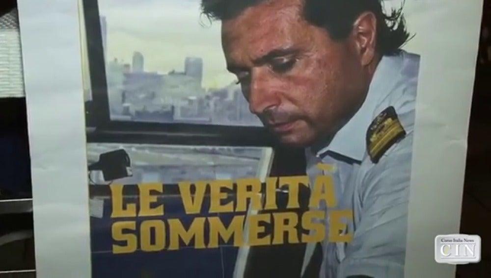 Frame 40.223111 de: El capitán del crucero Costa Concordia triunfa como escritor narrando el naufragio