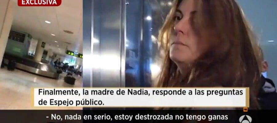 Antena 3 tv la madre de nadia antes de declarar en el for Ver espejo publico hoy