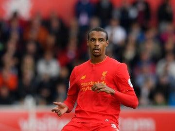 Joel Matip, jugador del Liverpool